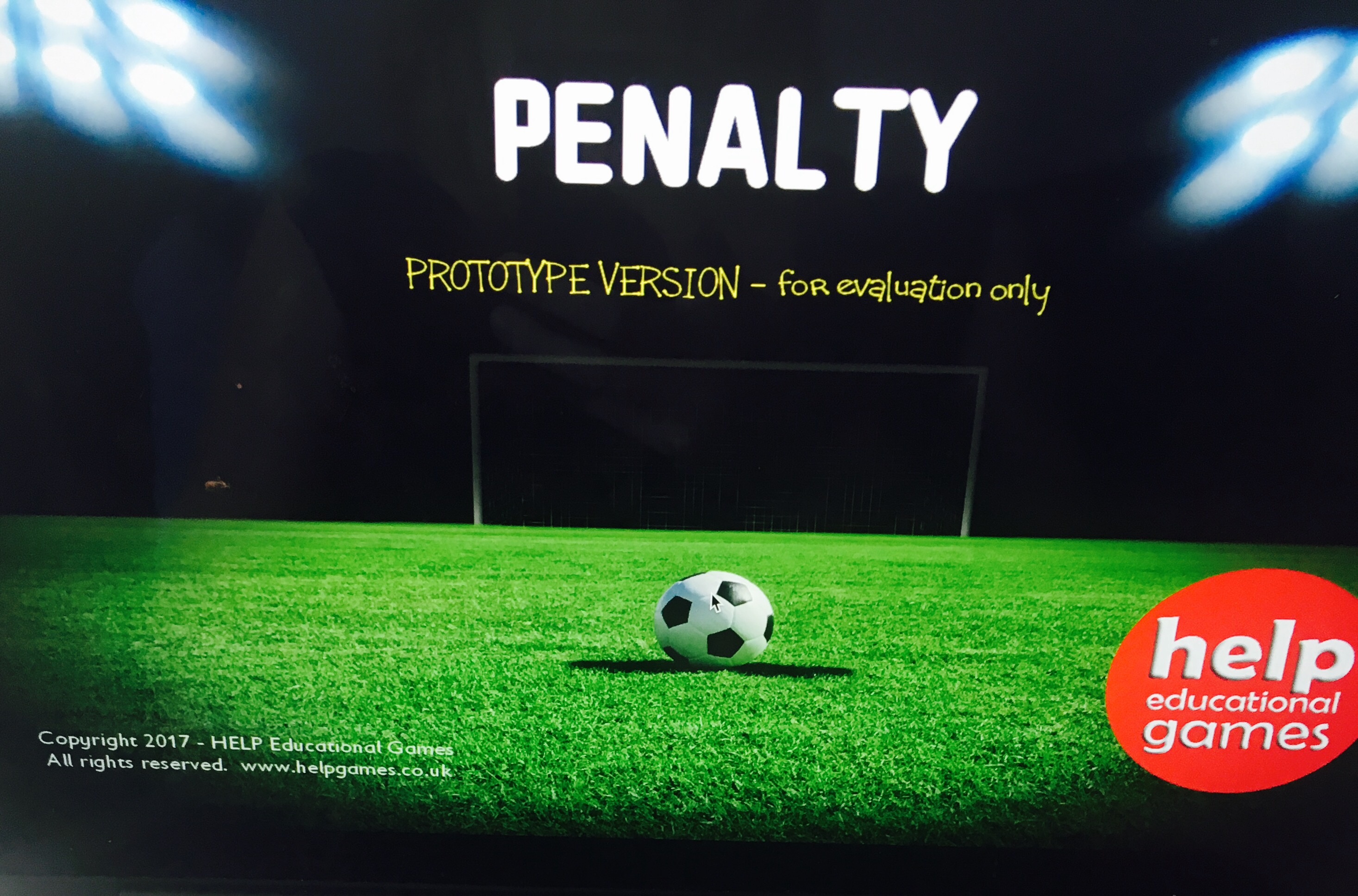 Review: Penalty by HELP Educational Games – Special Educational ...