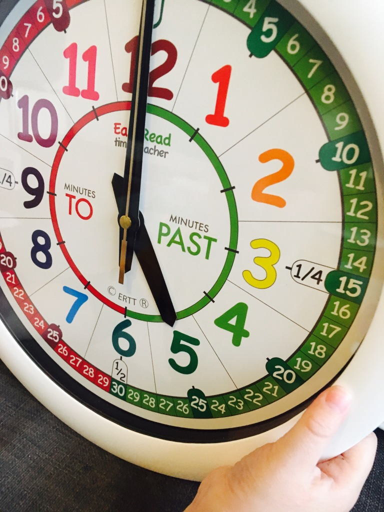 Review Easyread Time Teacher Wall Clock Special