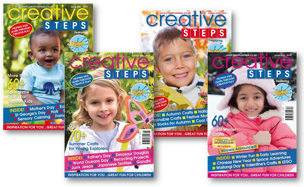 Creative Steps covers 2019-2020